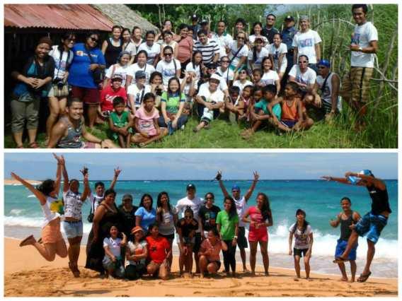Wave 6 Volunteers of Project Jomalig | Photo by  Duane Bernardo & Erwin Nuer