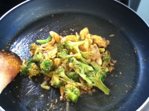 Turmeric Fish and Broccoli Stir Fry