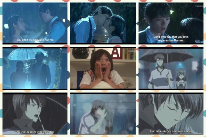 itazura na kiss anime x live action