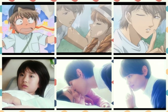 itazura na kiss anime x live action